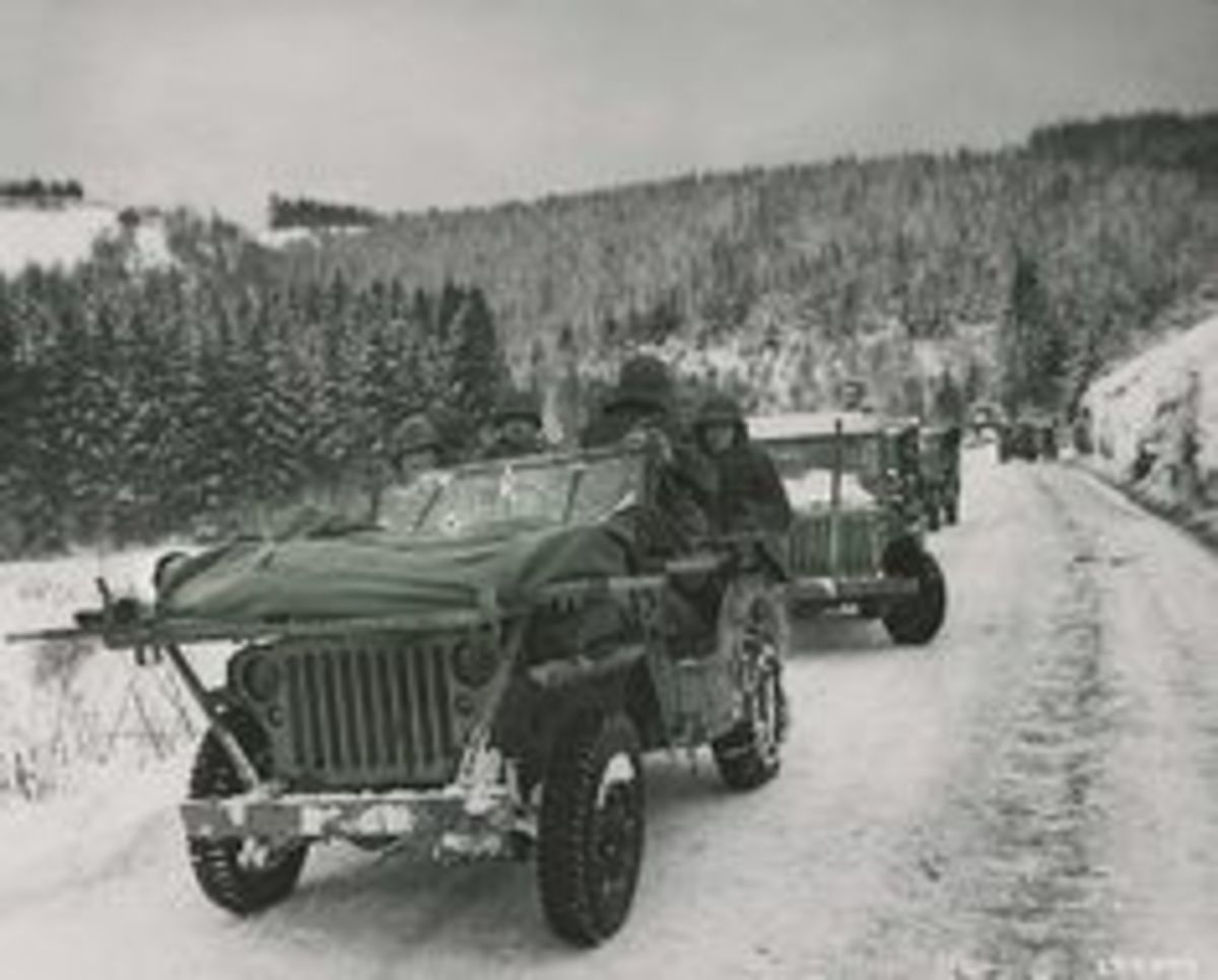 The 334th Infantry in the Ardennes.
