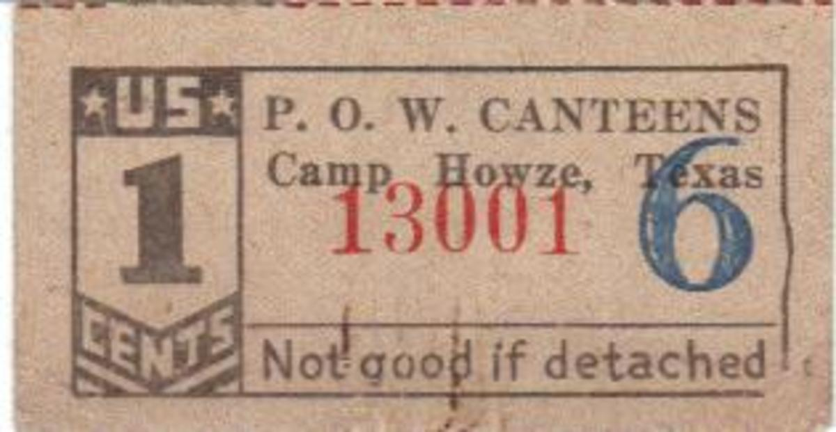 Script the POW's were paid for use in the canteen.