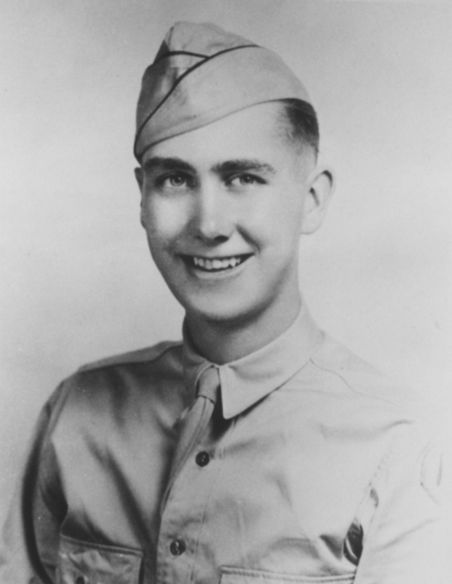 Pfc. Robert E. Young from Pittsburgh, PA.  He was a member of the 333rd Infantry Division.