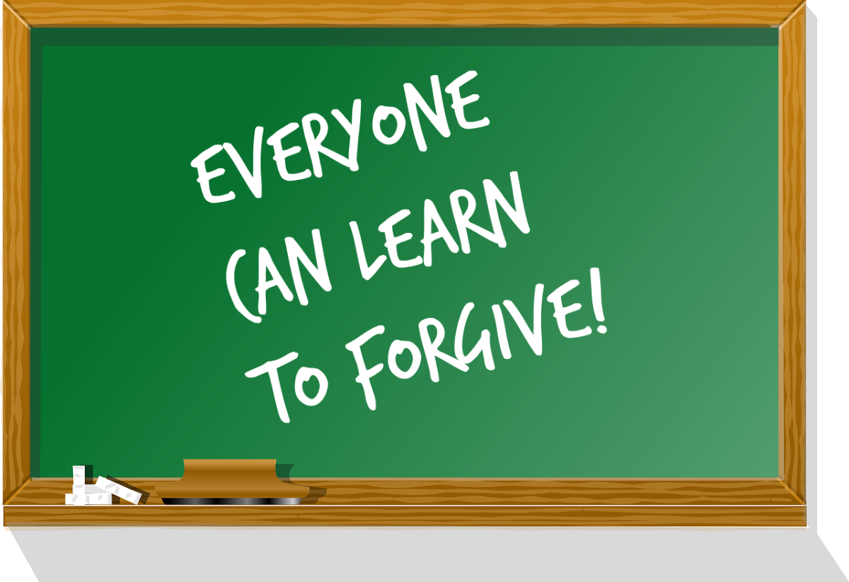 Everyone can learn to forgive.