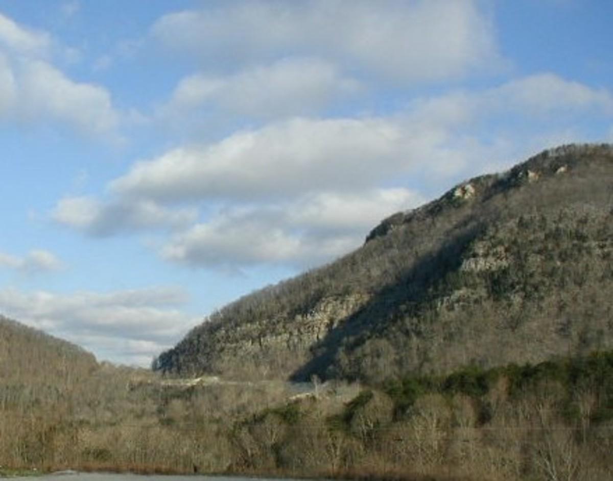 Cumberland Gap in winter