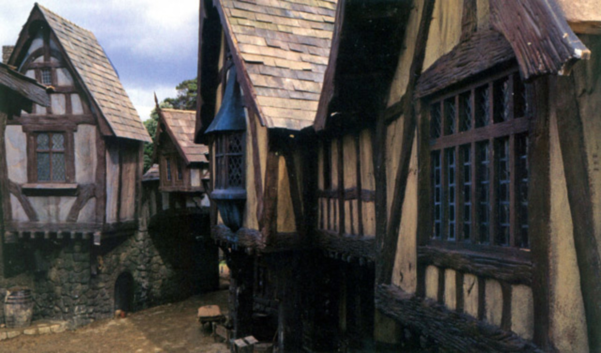 Bree, in the Shire, in Tolkien's Middle-Earth