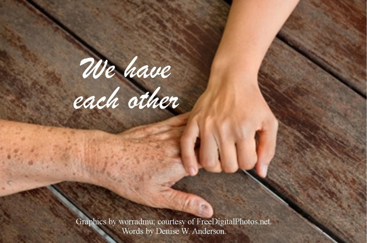 There is no age requirement to providing support. We can give it to anyone, no matter who they are and what our relationship.