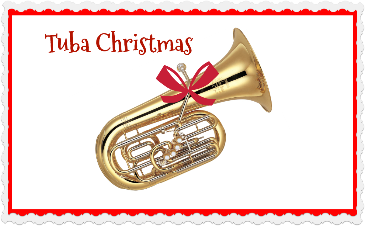 Tuba Christmas performances can be found in many cities in the United States.