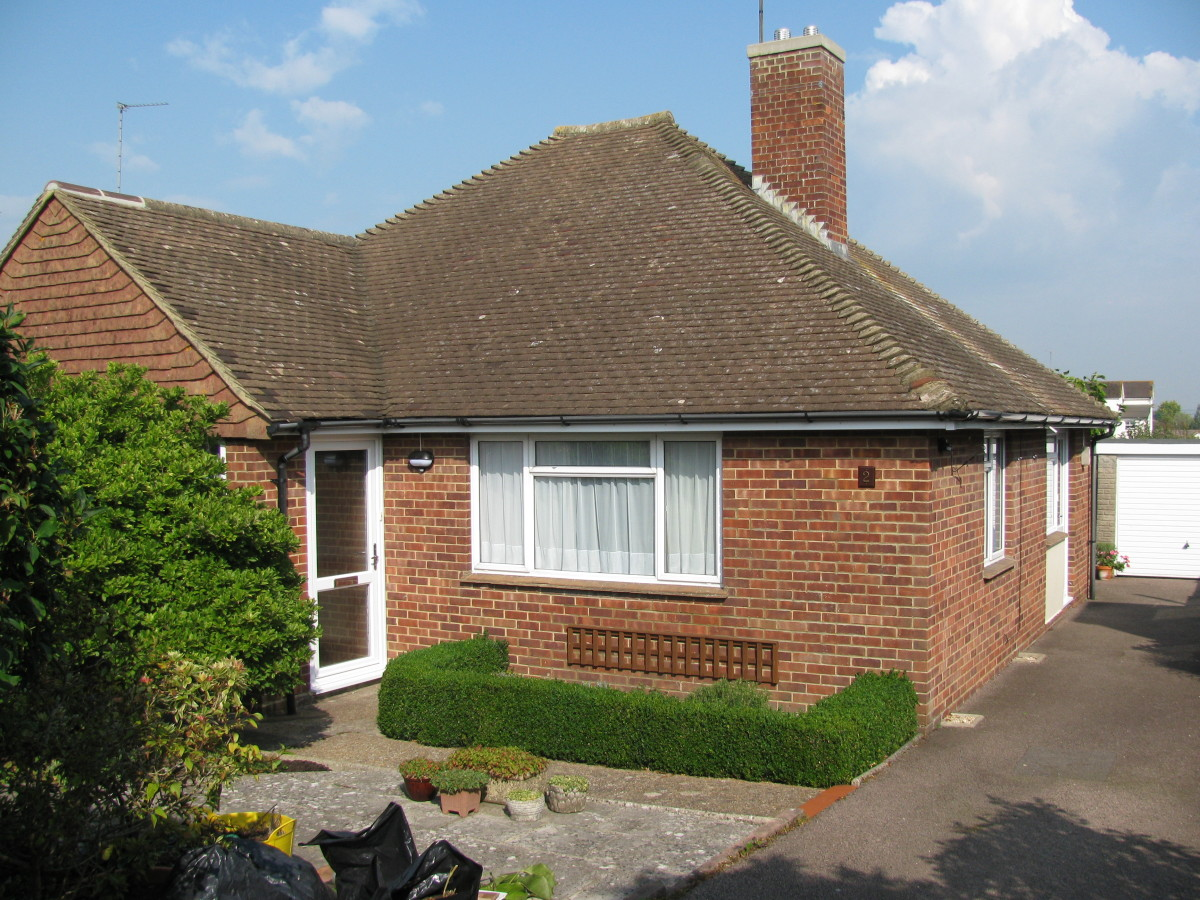 2 Fairfield Crescent, Hurstpierpoint, Sussex, England; my childhood bungalow that I loved