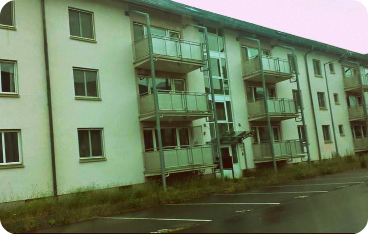 Strassburg Kaserne, Germany, post housing for military personnel and their dependents.