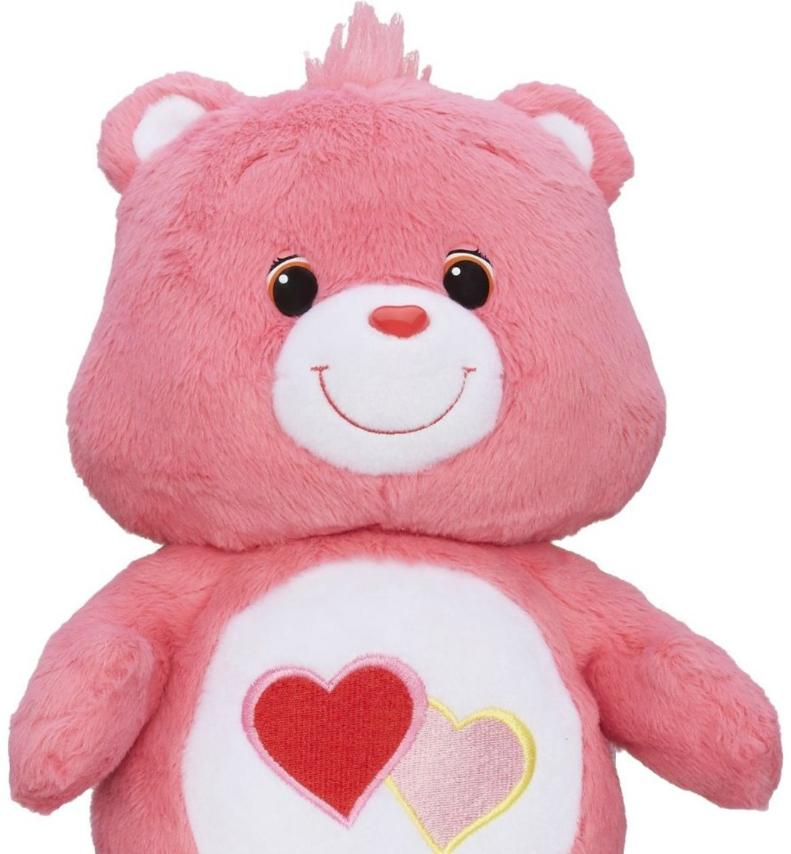 Aanya fell in love with a Care Bear named Love-A-Lot.