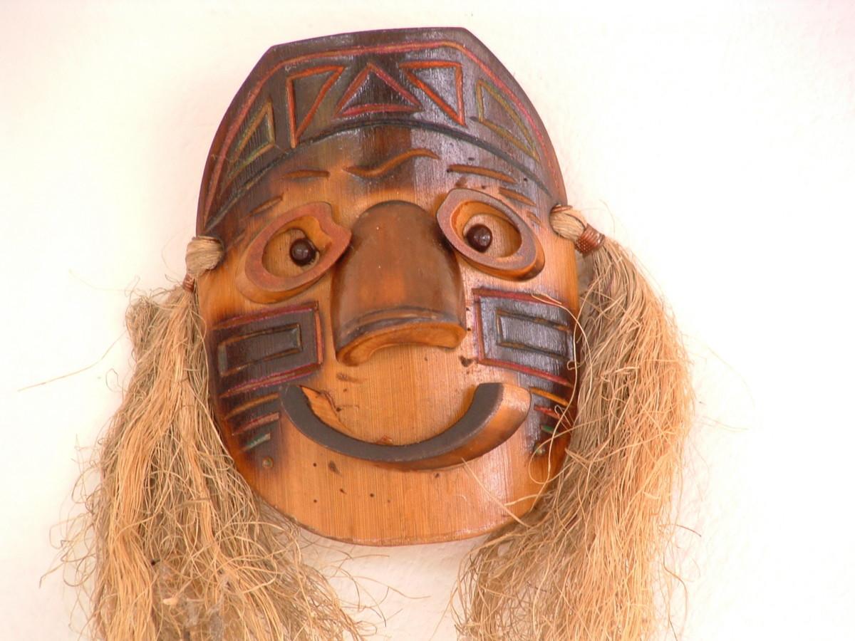 An African mask.