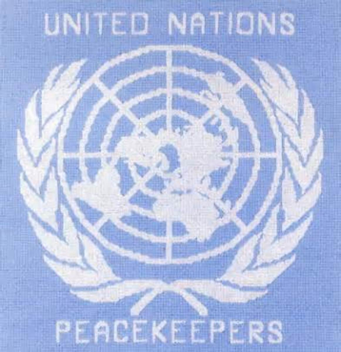 U.N Peacekeeper's Patch