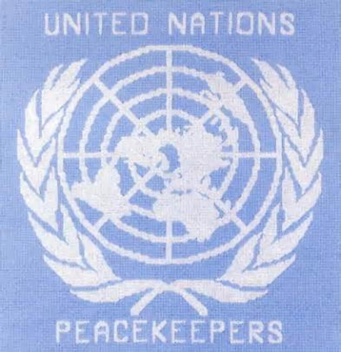 U.N Peacekeeper's Patch