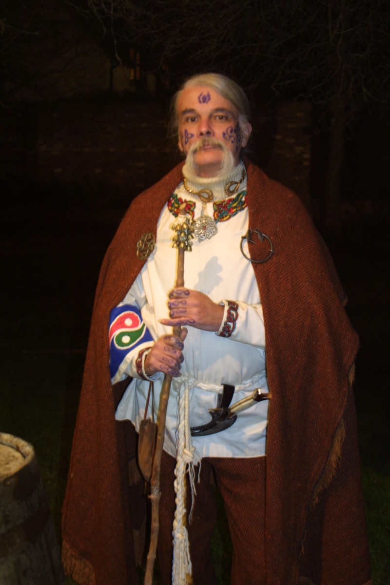 The Master of Ceremonies for the Orchard Wassail.