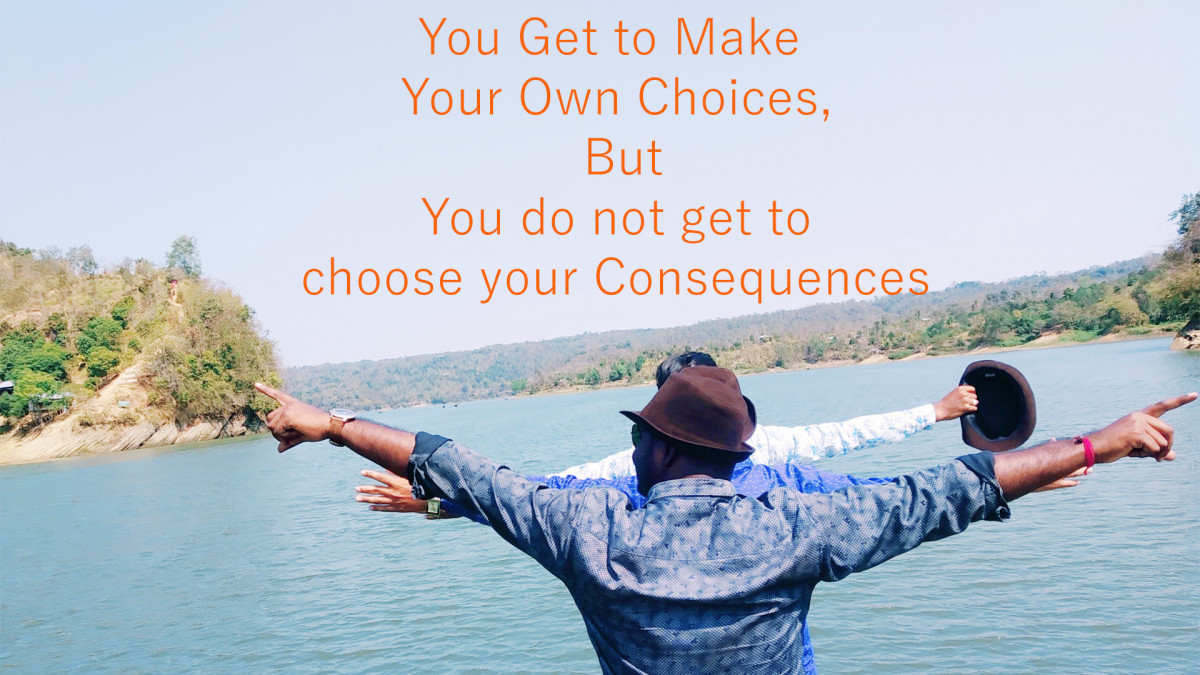 are we free to make your own decisions or are we limited