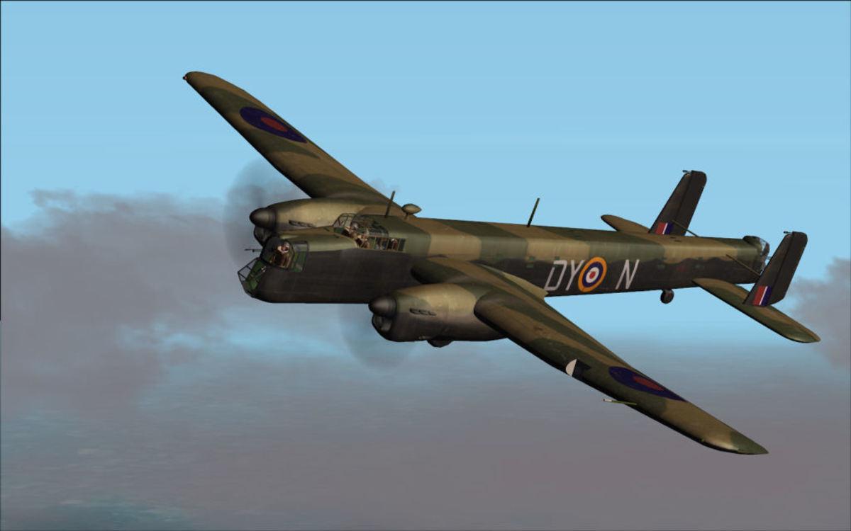 Whitley V bomber
