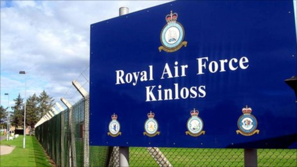 RAF Air Force Kinloss Scotland