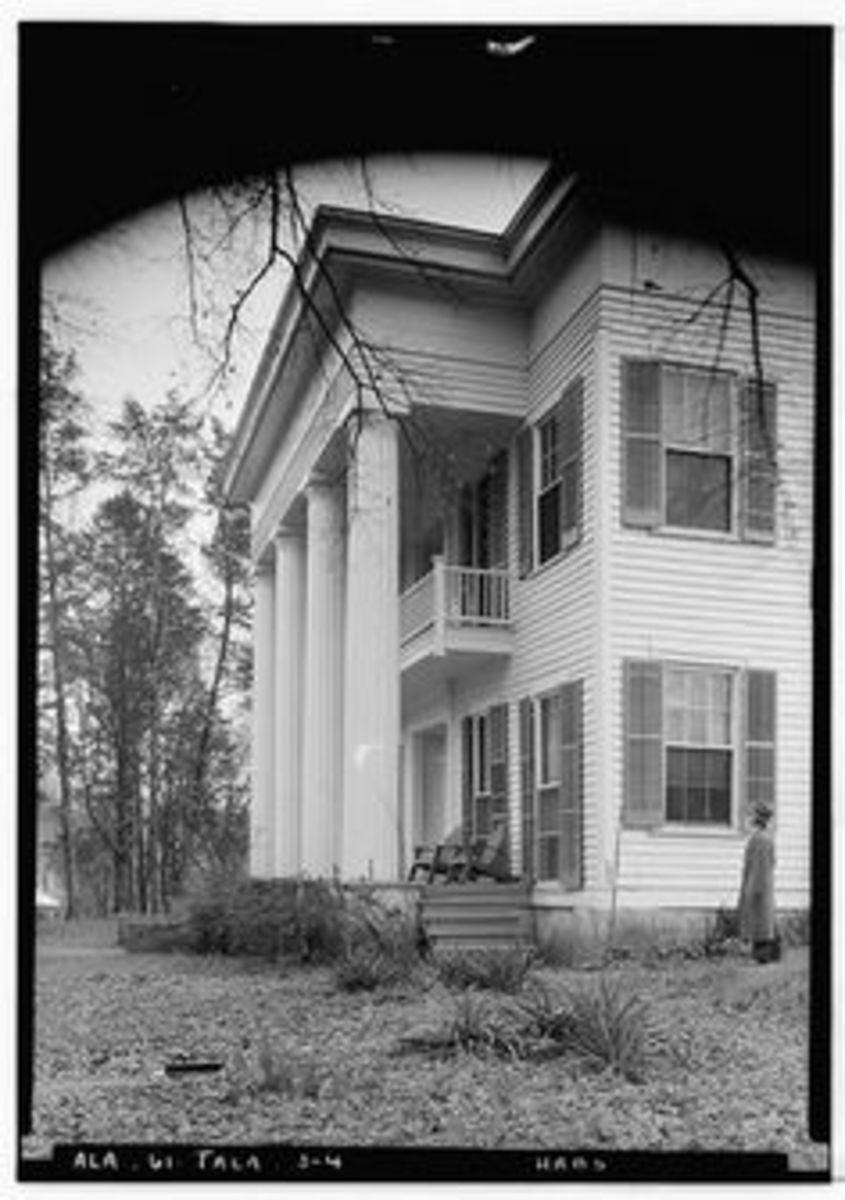 A southern plantation house