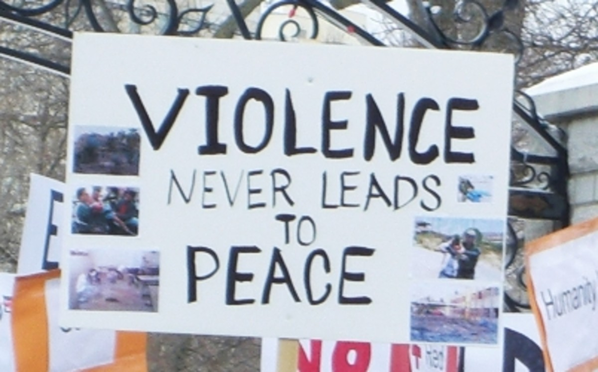 Can violence lead to peace?
