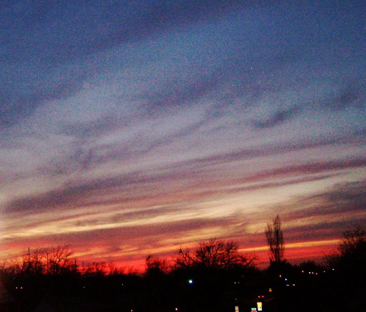 The masterpiece of a sky...