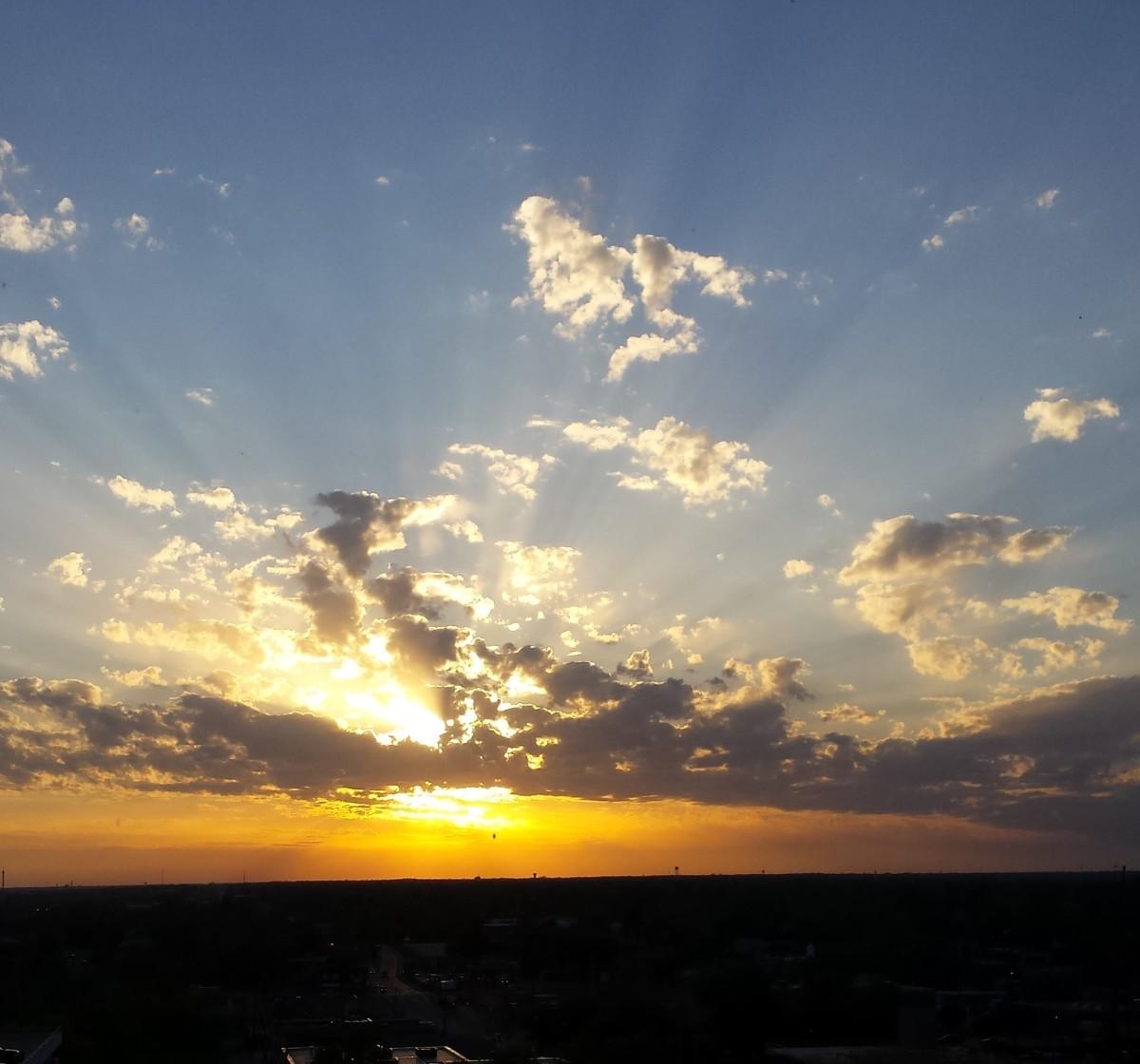 Brighter tomorrows in our dreams...