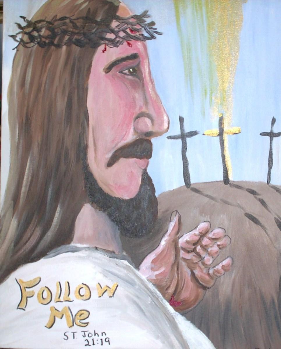 Follow him...