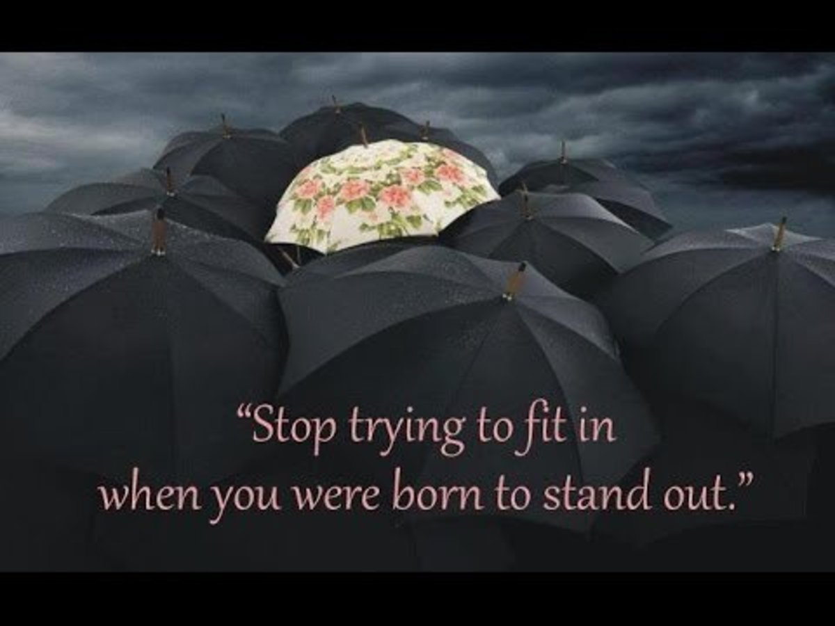 httphubpagescomhubwhy-try-to-fit-in-when-you-were-born-to-stand-out