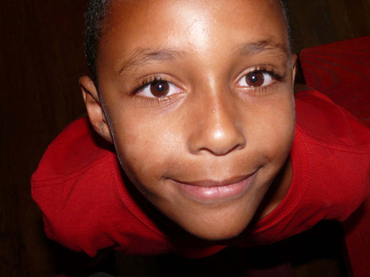 The self-perception of a young black boy becomes tarnished when he internalizes the negative stereotypes ascribed to and placed upon him by others.