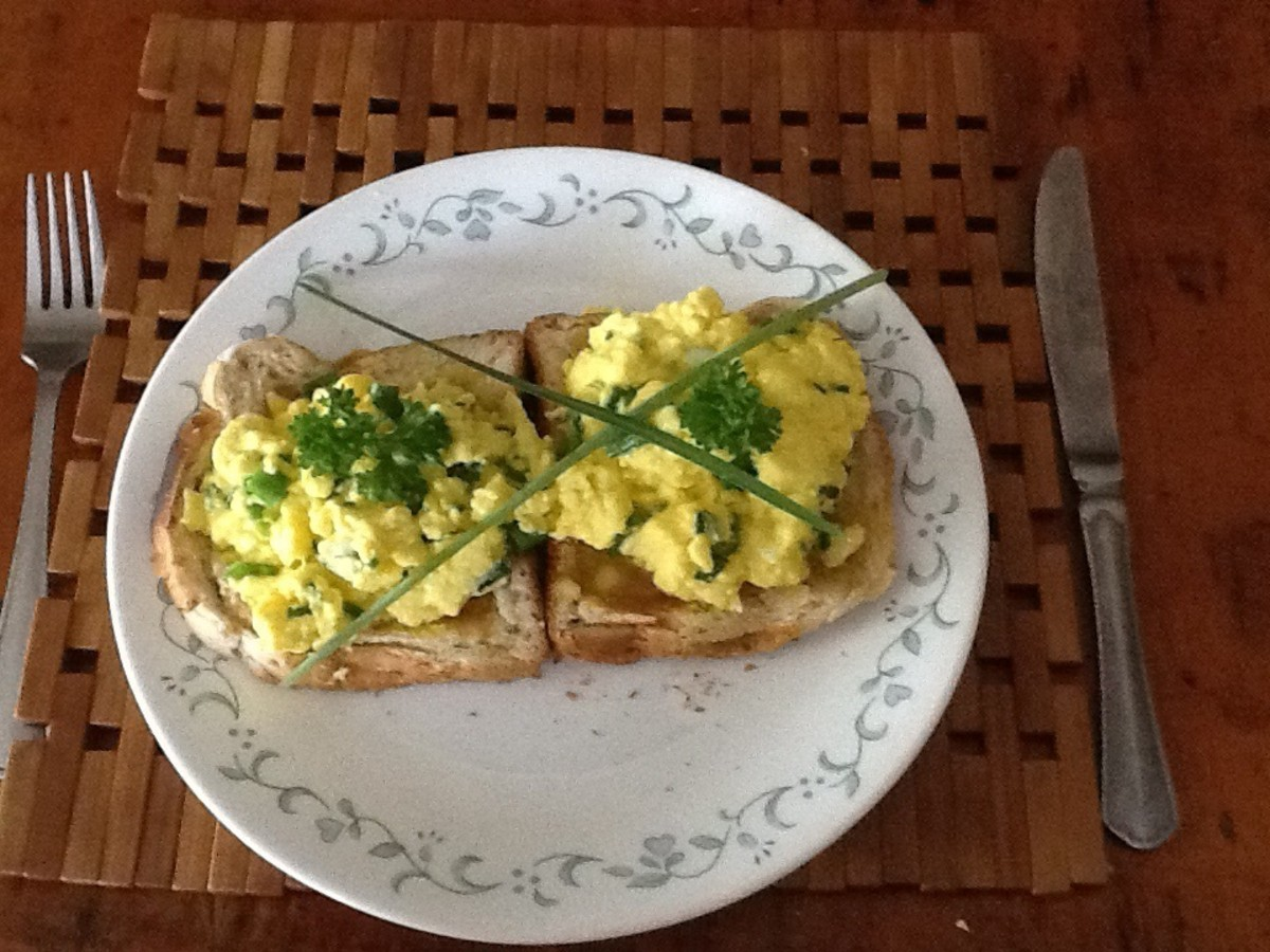 The world's best scrambled eggs