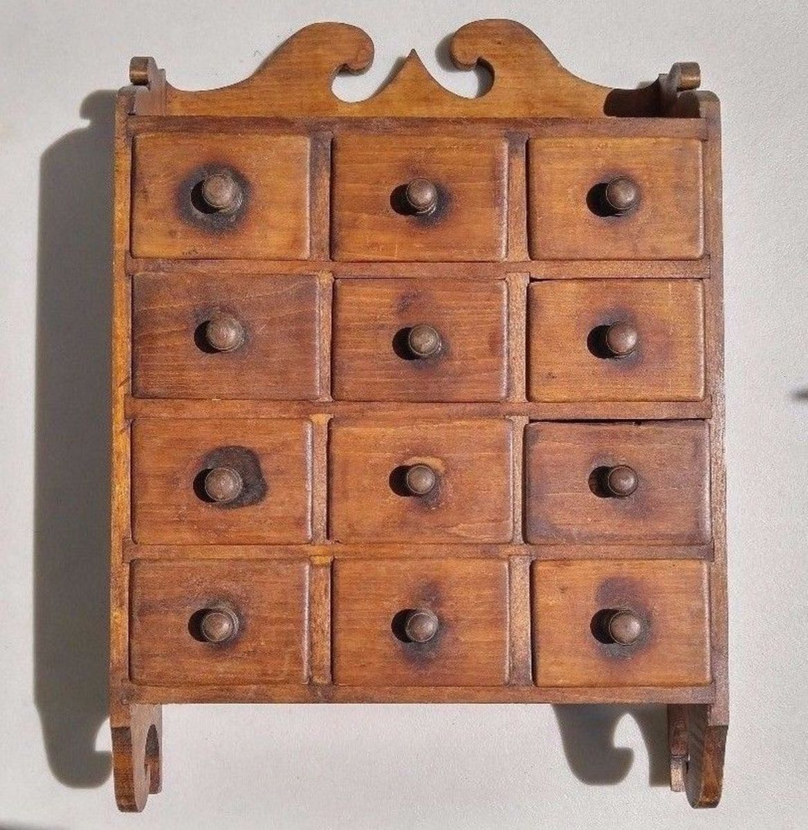 An apothicary cabinet