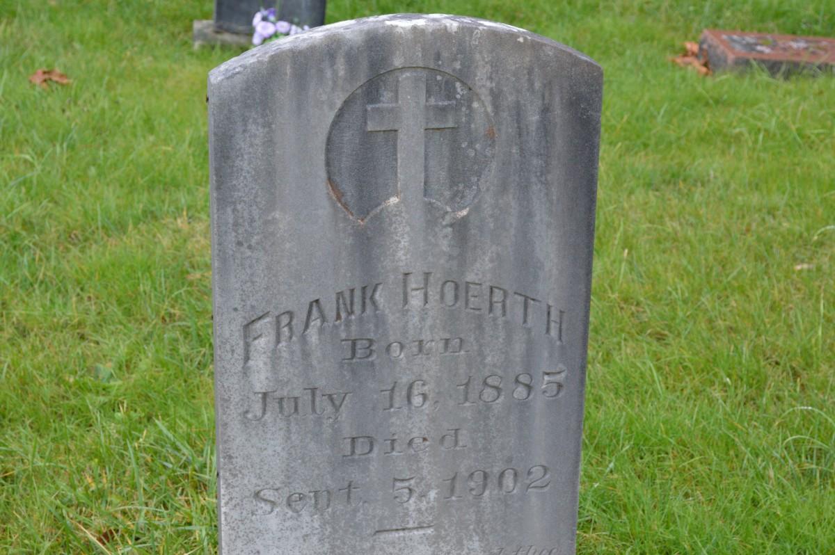 No grave for Mrs. Kramer on this day