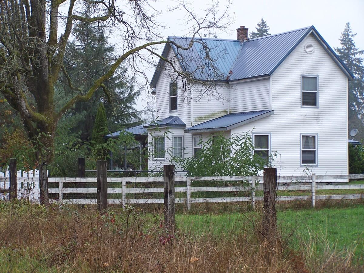 The home of Mrs. Kramer