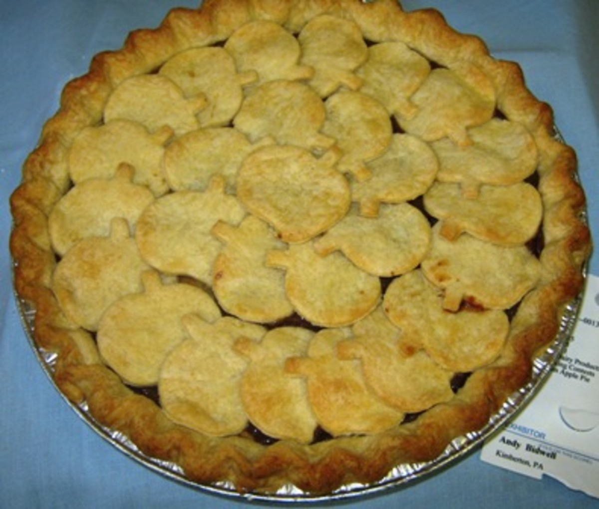 An apple pie winner