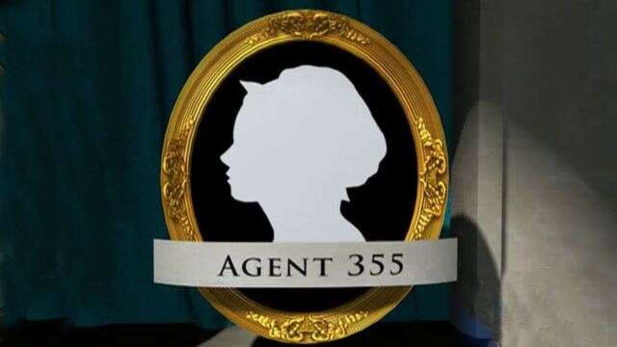 Artist tribute to Agent 355