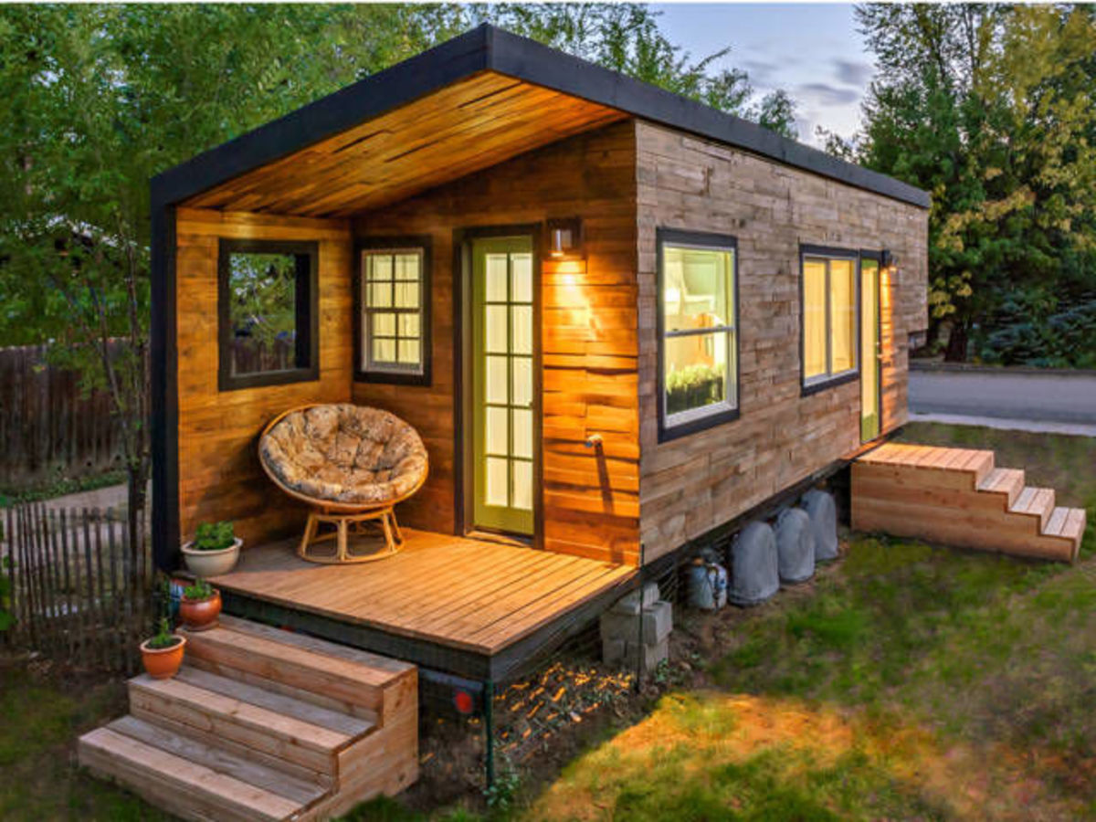 Tiny Houses can include attached decks
