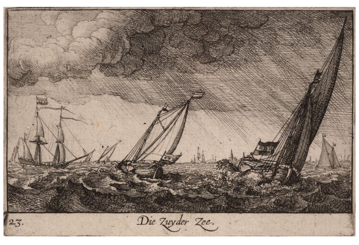 Wenceslas Hollar, Zuyder Zee