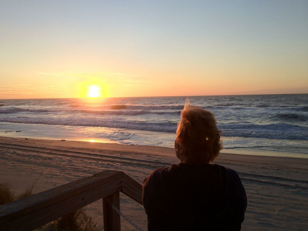 Sunrise at California Beach, NC by Bigroger27509