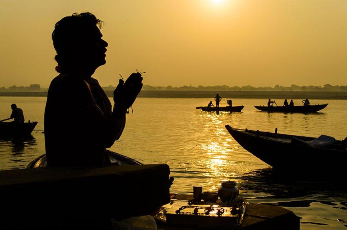 Man Praying by Shashwat Prakash