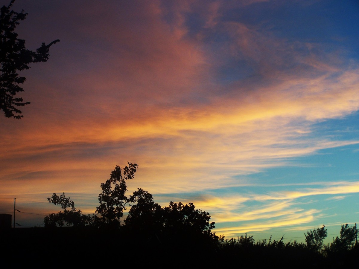 sunset-cascade