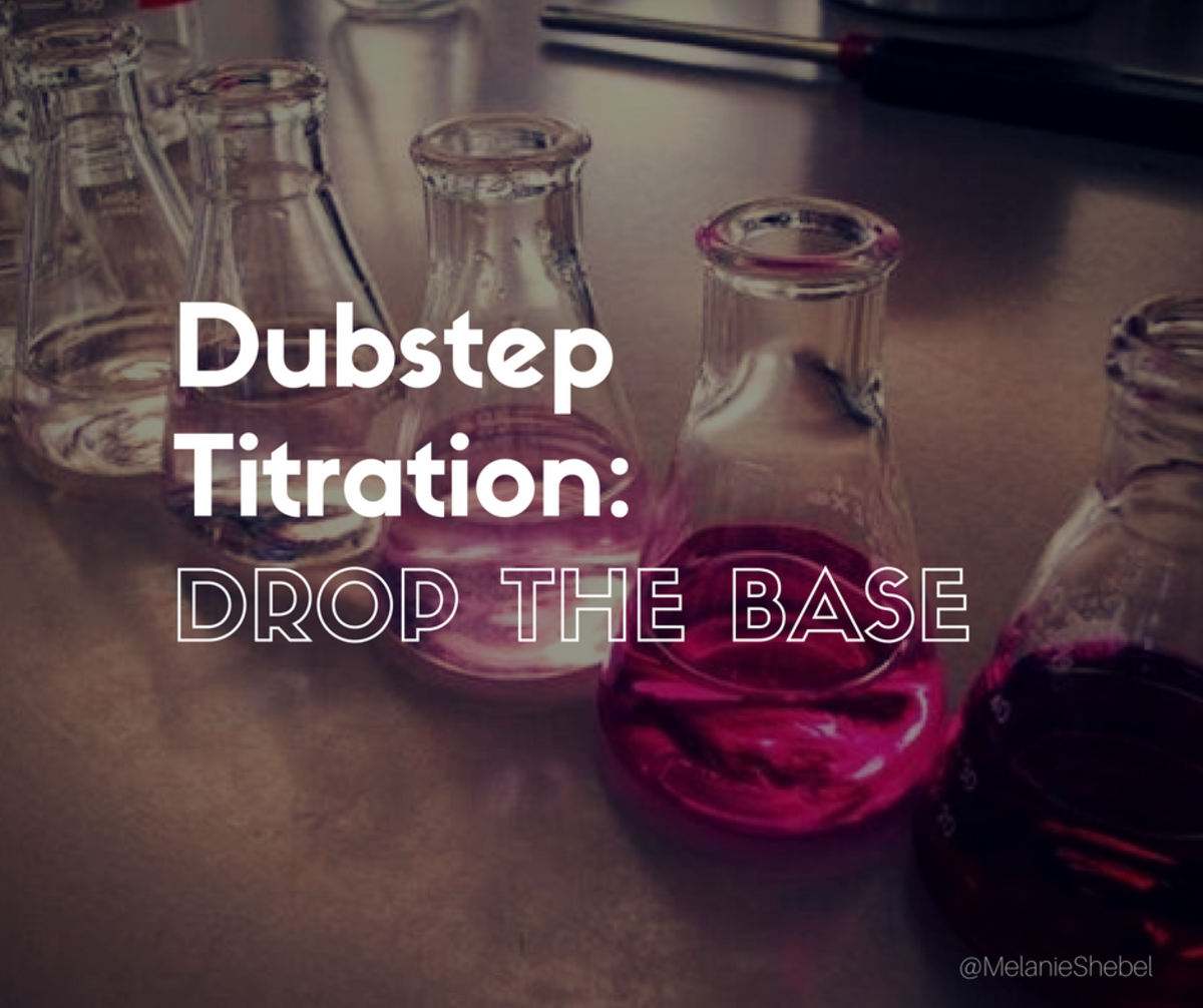 Dubstep titration: Drop the base