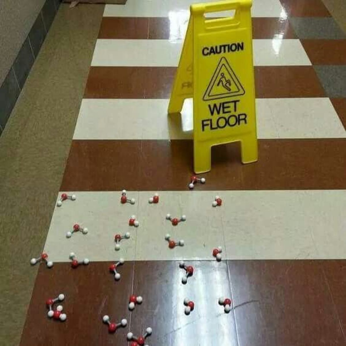 Caution: Wet Floor Caution: Chemical Spill