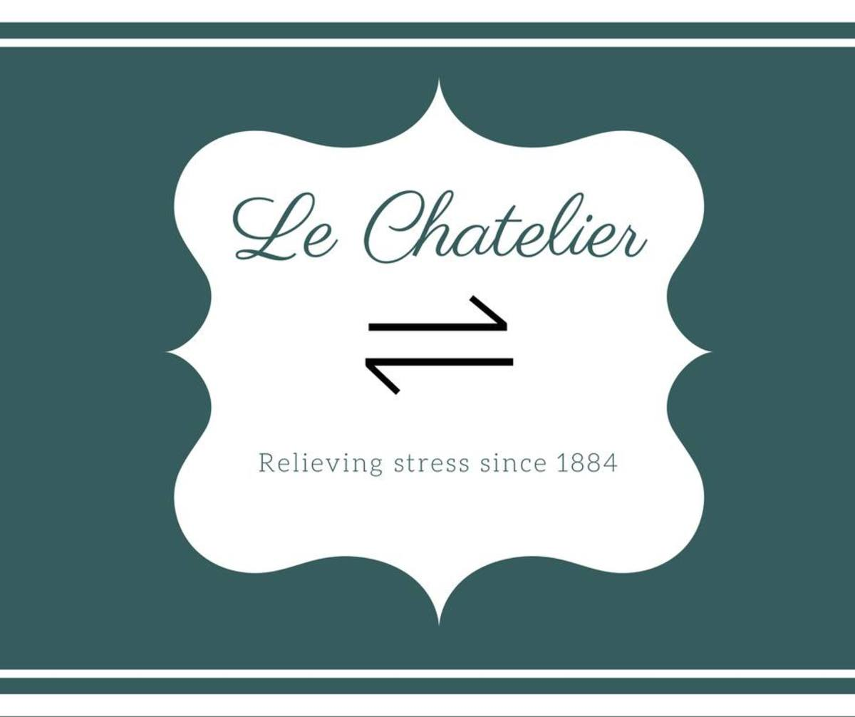 Le Chatelier: Relieving stress since 1884.