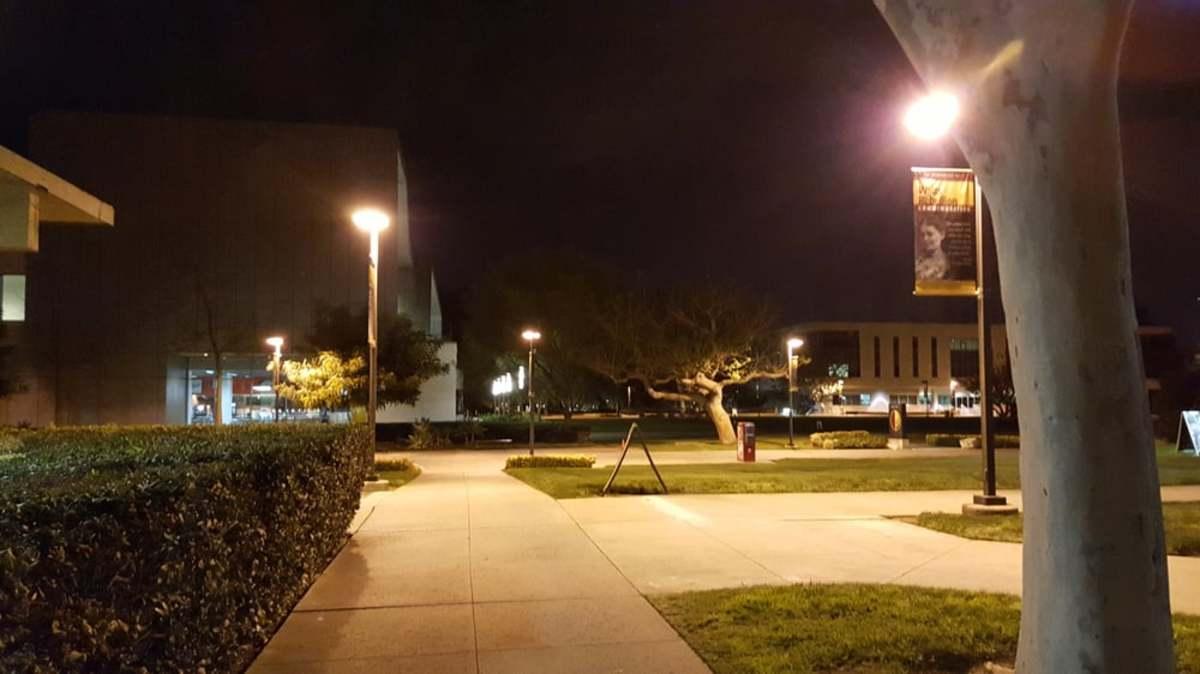 Campus at Nightfall