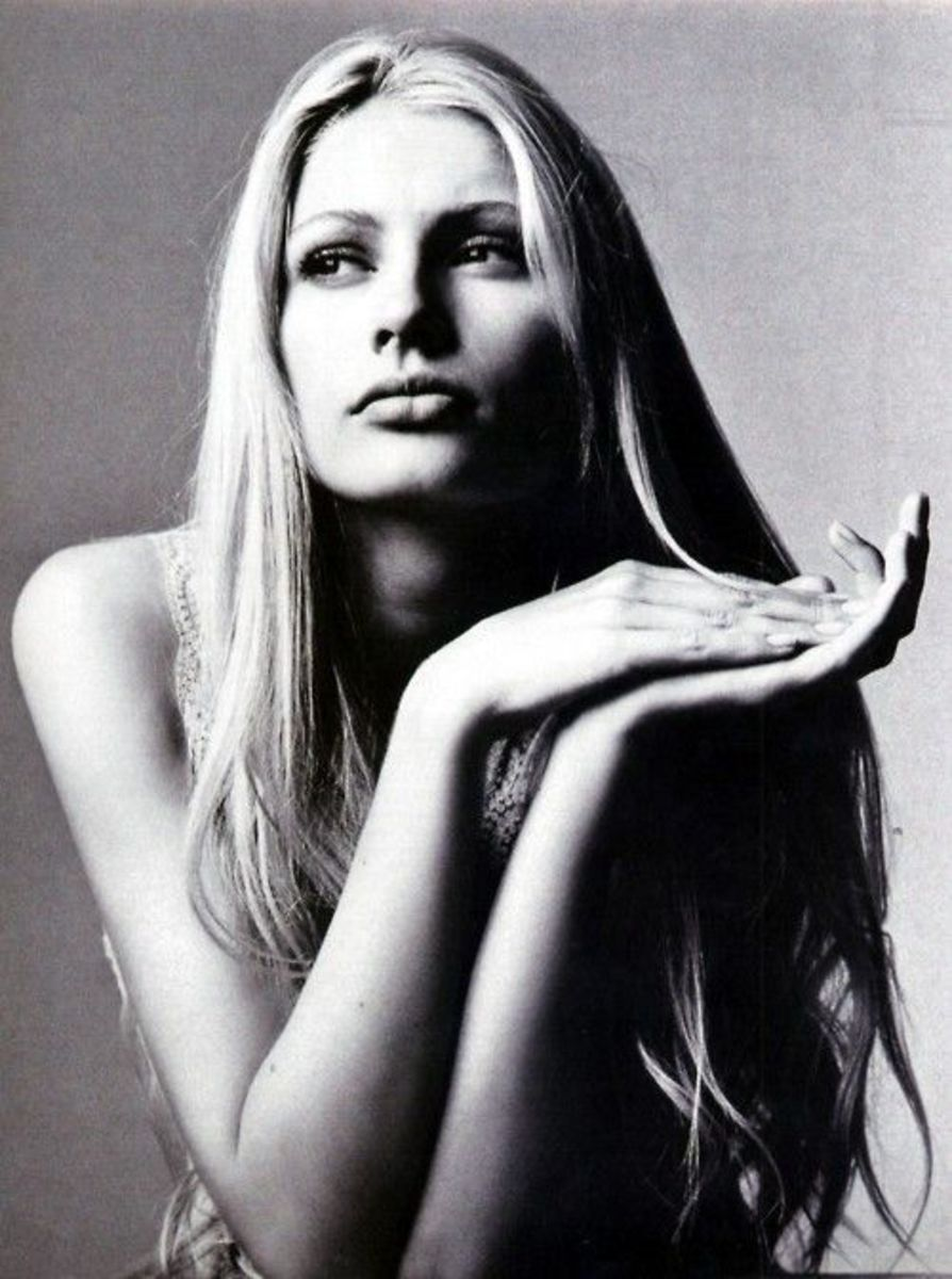 Kirsty Hume Vogue Australia (November/1996) photo: Irving Penn