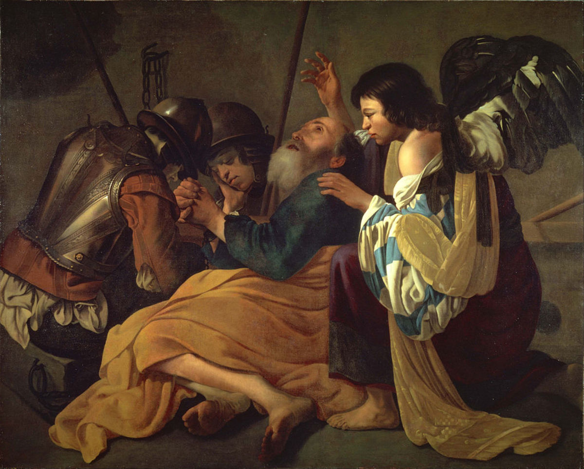 Peter Being Freed from Prison. Artist: Follower of Hendrick Terbrugghen