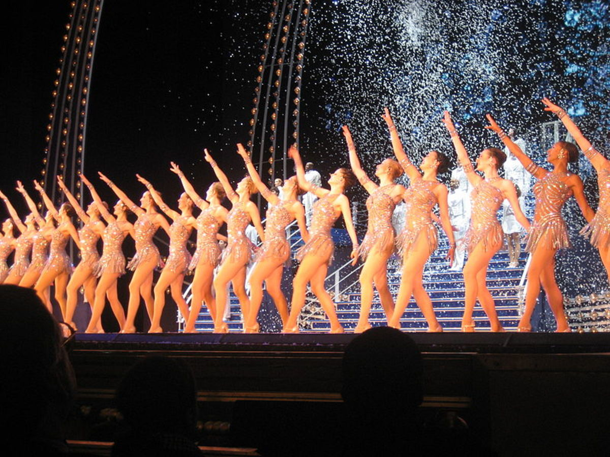 The Rockettes strive for perfection with every routine they present.