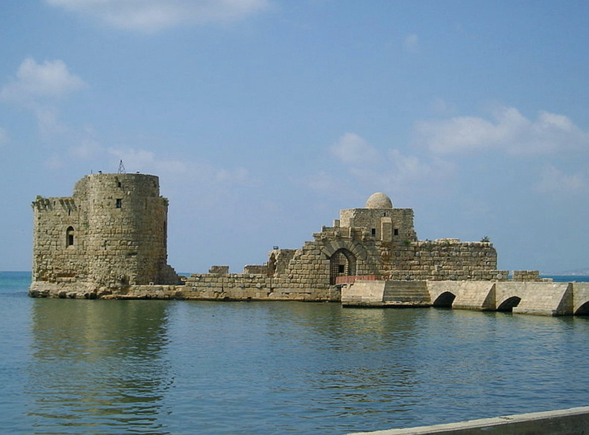 Sidon's Sea Castle