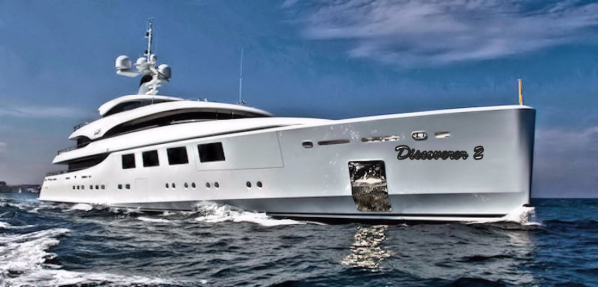 Joey finally bought that yacht he always wanted.