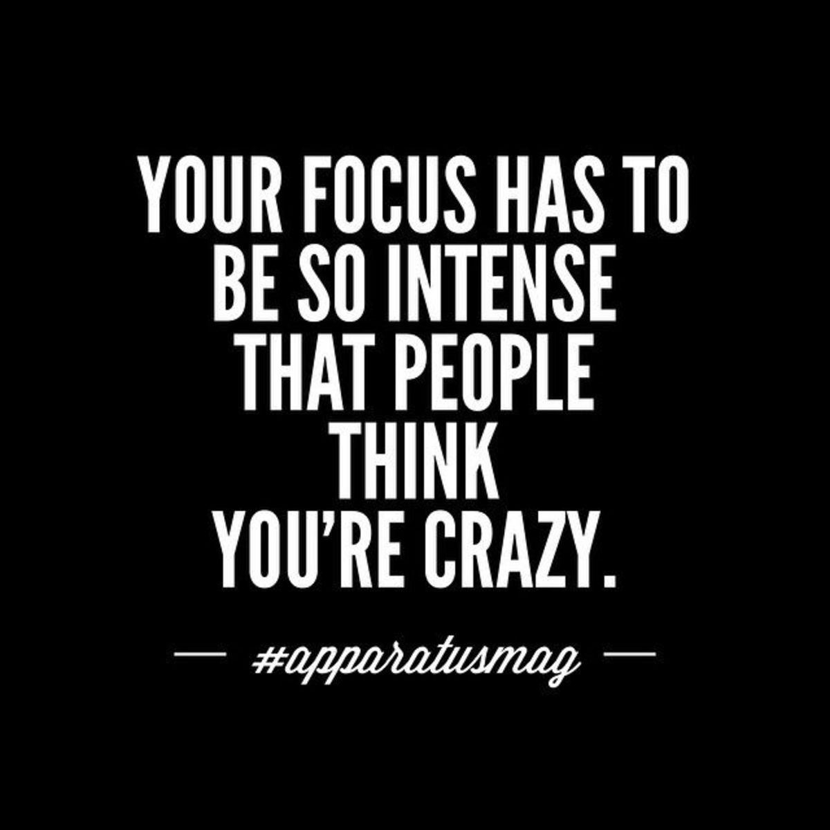 Limitless Focus on something is intense focus