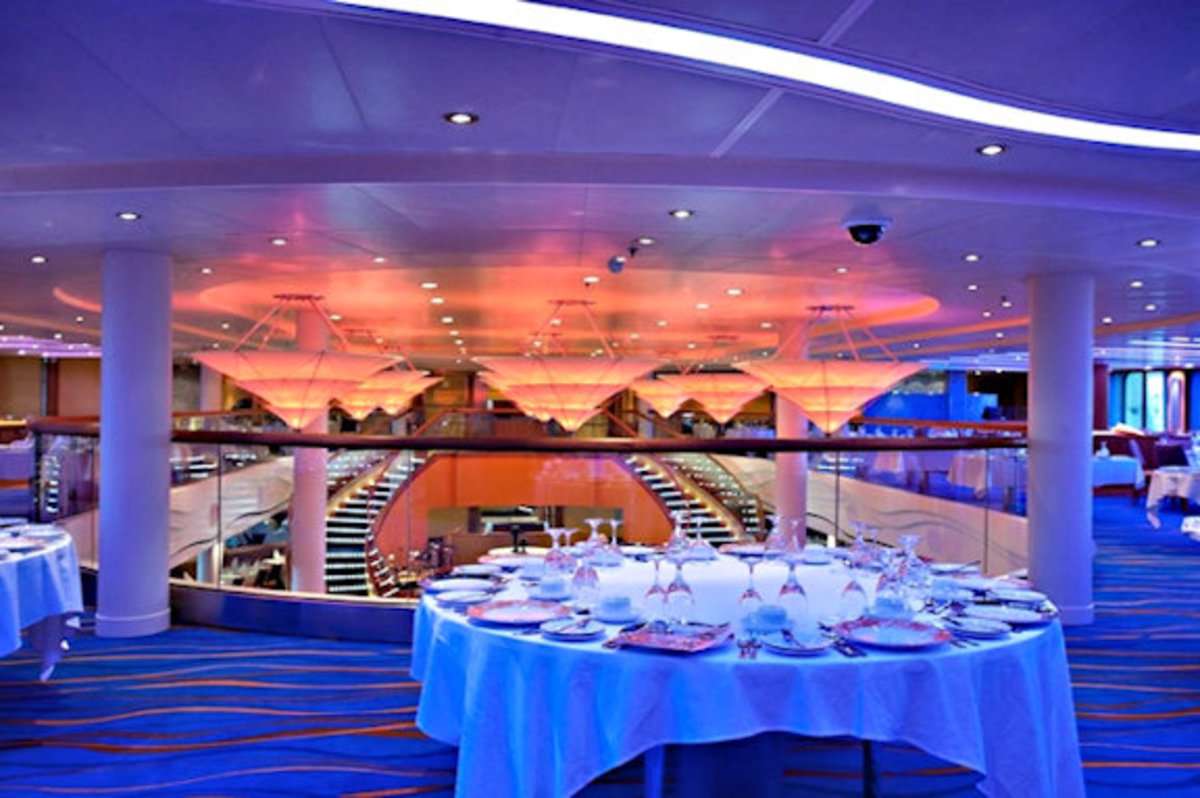 Dining on the Coral Princess!