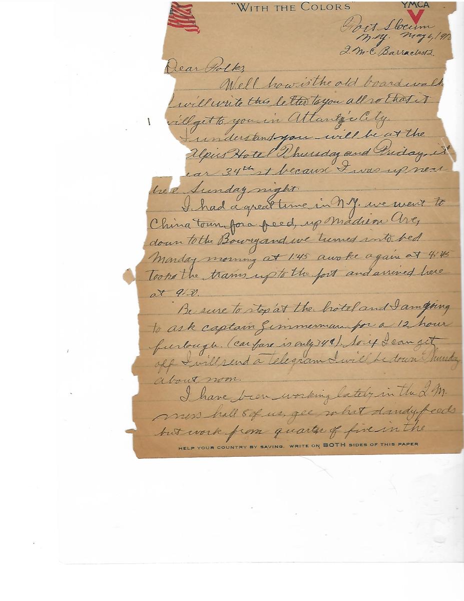 Letter deteriorating