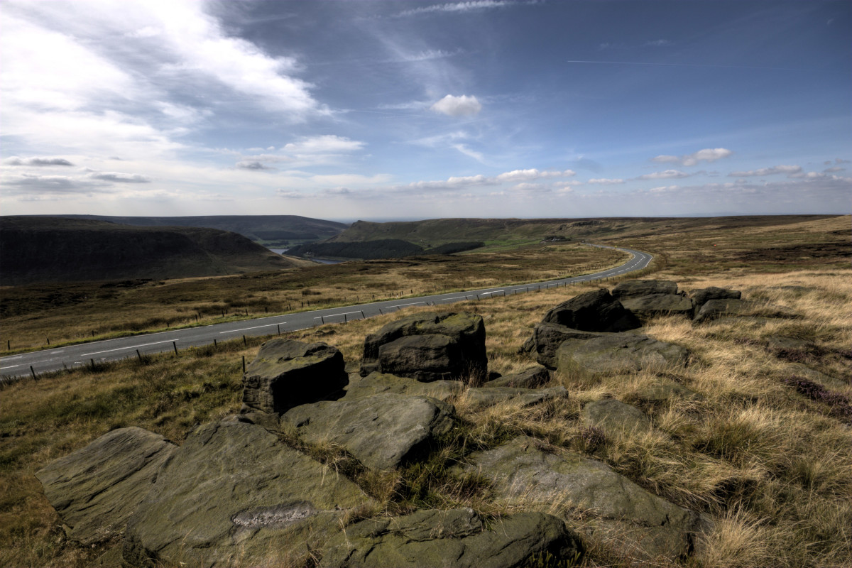 Saddleworth Moor is in the Peak District National Park, North West England where Ian Brady and Myra Hindley courted each other and then began murdering children