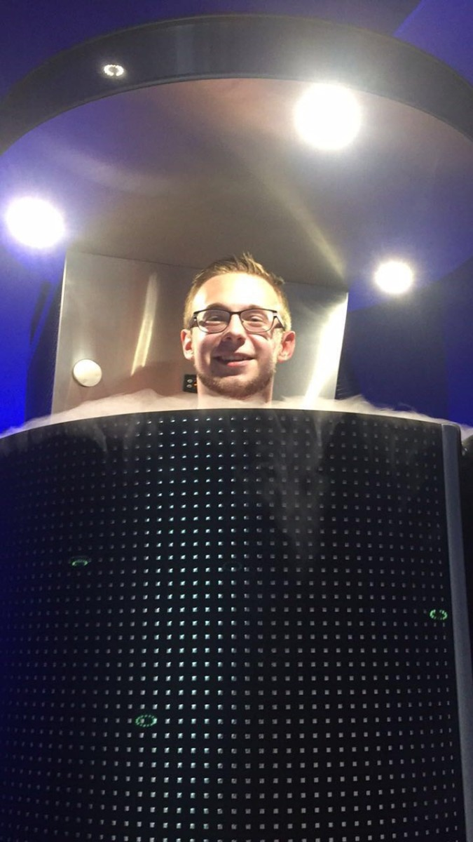 First Time Doing Cryotherapy